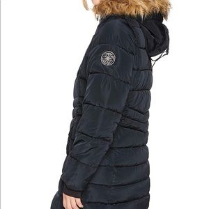 NWT Madden Girl winter puffer with faux fur